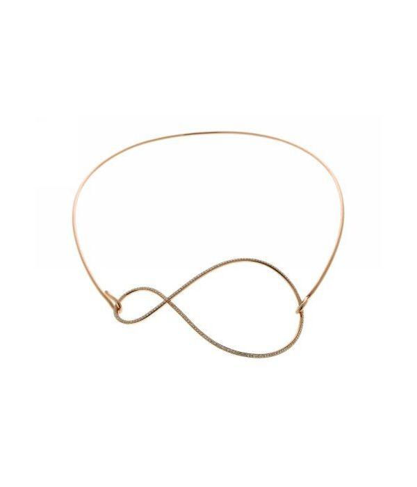Pendant/Necklace from the C'est dans l'air collection designed by Selim ·  Collier Pendentif