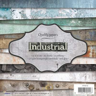 Industrial ~ 6x6 Paper Pad