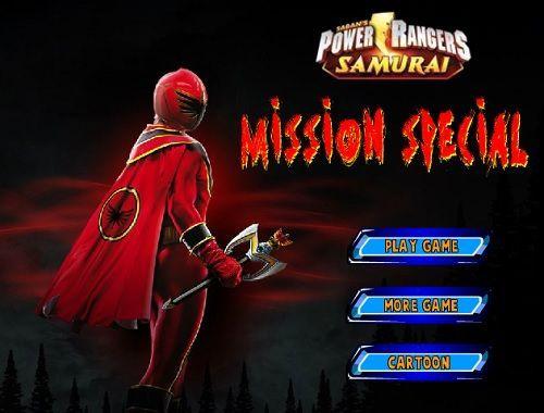 Power rangers Samurai - Mission Special