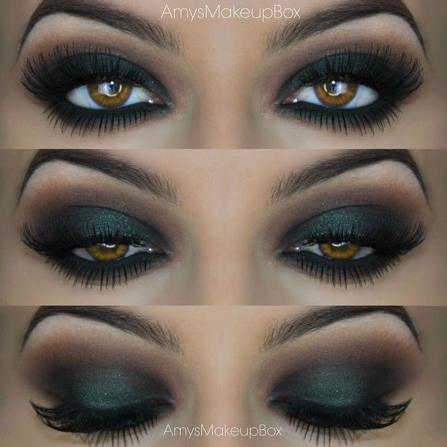 Green smokey eye is my new fave