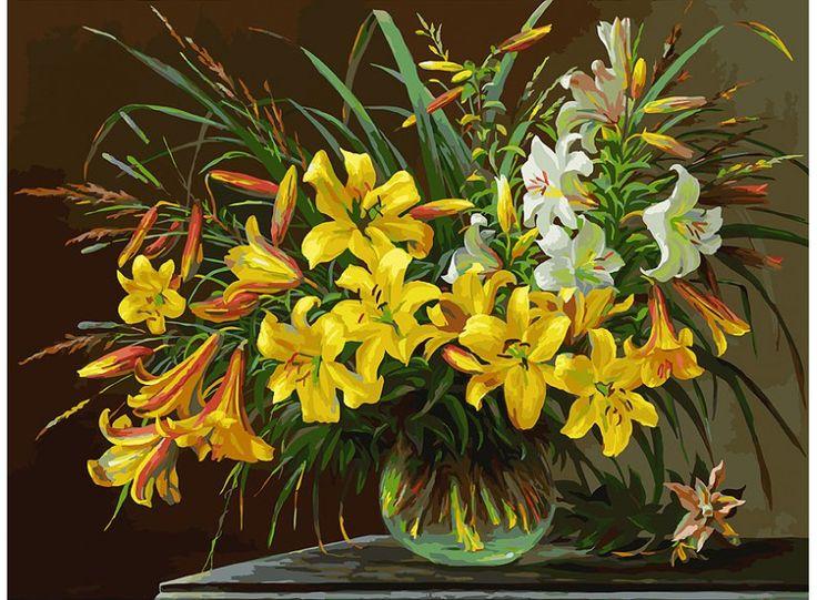 Золотая лилия Раскраски по номерам Белоснежка (Китай)