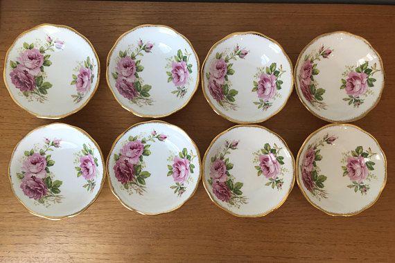 Vintage Royal Albert American Beauty Bowls Small