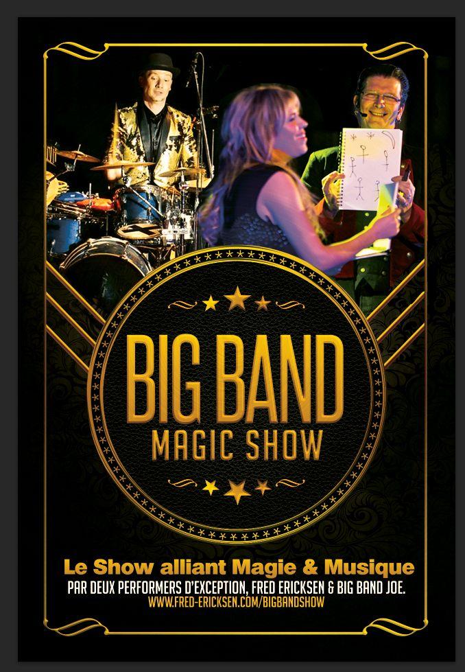 Big Band Show : Prestations Illusions & Musique Live