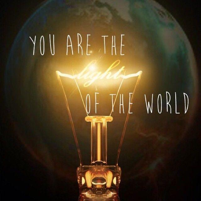 Scriptures Jesus Light World