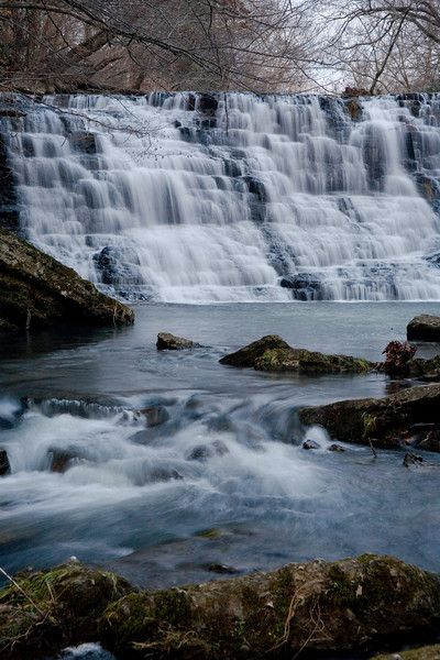 Rutledge Falls in the middle Tn. area. Also was filmed in the Hanna Montana movie.