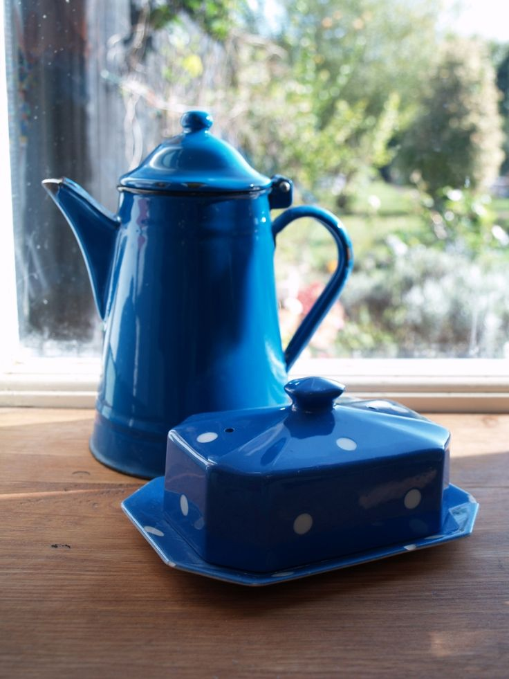17 Best Images About Blue Enamelware On Pinterest Cobalt