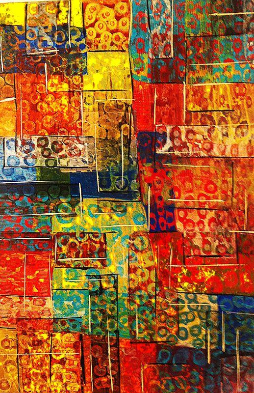 Sherry Bellamy - Acrylic on Canvas  (24 x 36)