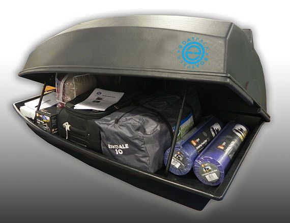 BoatPack Is A Car Roof Box That Doubles As A Dinghy