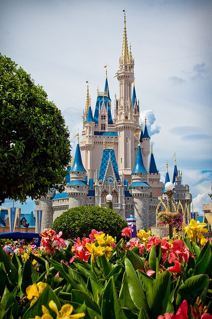 Magic Kingdom, FL. It is ACTUALLY magical, by the way. Loved it here.