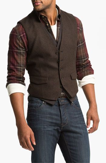 John Varvatos Star USA Double Layered Vest available at #Nordstrom