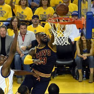 Kyrie Irving's injury was the result of a contact play, Cavaliers say
