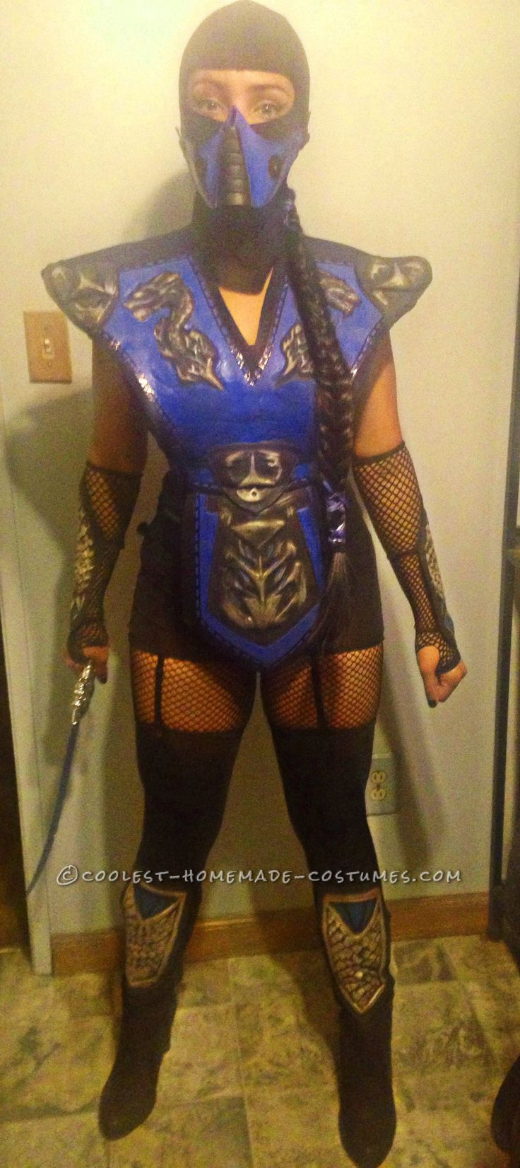 mortal combat subzero costume for a woman - Mortal Kombat Smoke Halloween Costume