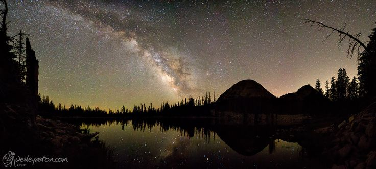Shot this as a 12 stitch pano at Pass Lake in the Uinta Mountains.