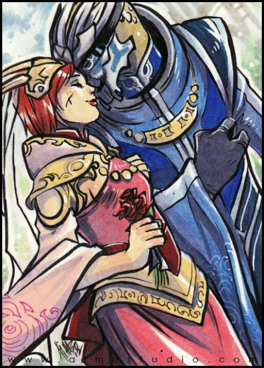 """Mass Effect - """"Turian Wedding"""" by aimo HER HEADDRESS THOUGH it makes her look kind of like a turian i love it"""