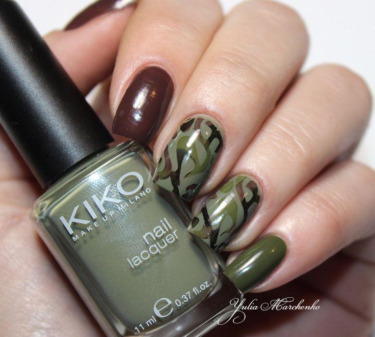 Дневники лакоманьяка: Camouflage nails