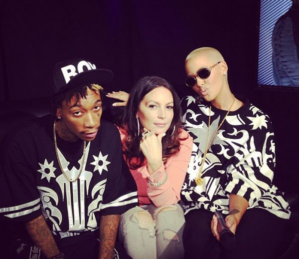 "Wiz Khalifa & Amber Rose Dish To Angie Martinez Wedding Deets, Twerk Video, Miley & Amber Says ""I Don't Know What He's Like Not High"" - http://celeboftea.com/wiz-khalifa-amber-rose-dish-to-angie-martinez-wedding-deets-twerk-video-miley-amber-says-i-dont-know-what-hes-like-not-high/"