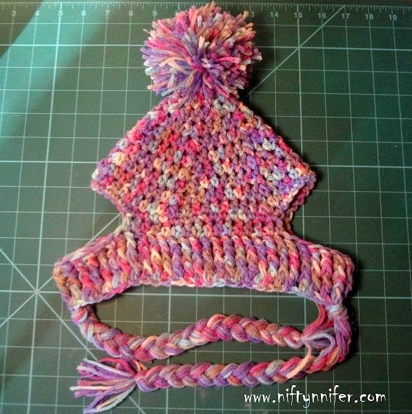 Crochet Pattern For Dog Hat With Ear Holes : Free Crochet Pattern ~A Silly Hat For My Silly Dog http ...