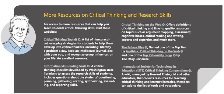 A Great Guide to Developing Critical Thinking through Web Research Skills eBook