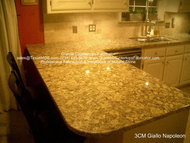 Giallo Napoleon Countertops Granite Design Ideas