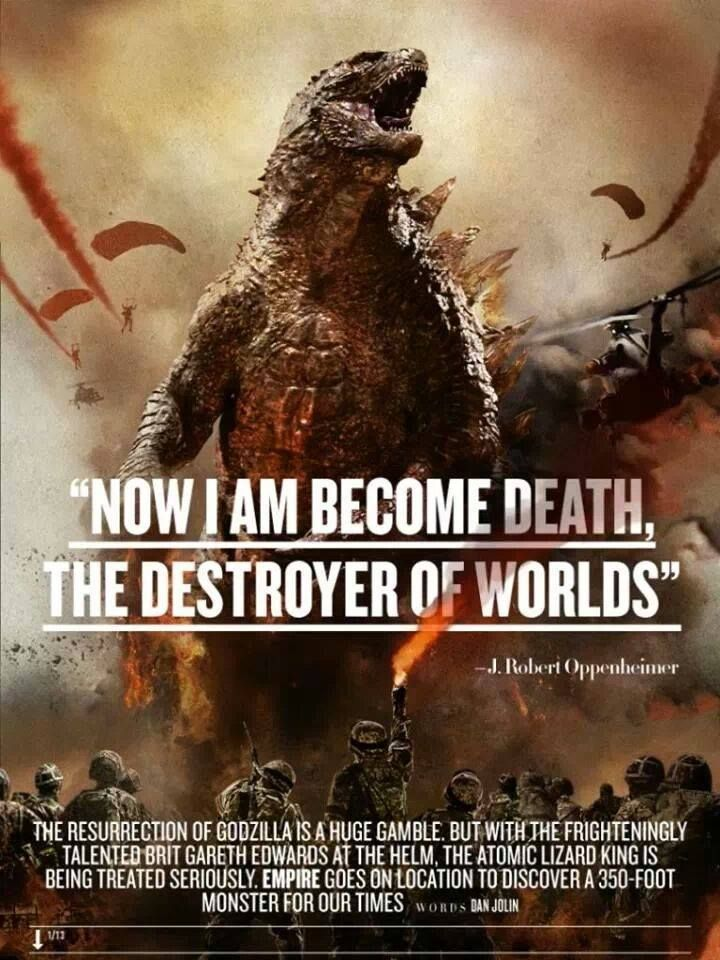 Godzilla 2014 Trailer Images and more!