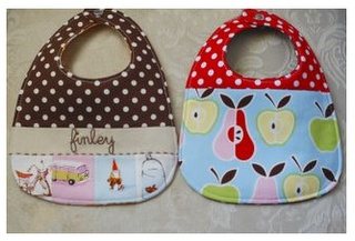 Free Patterns For Quilted Baby Bibs : Pinterest The world s catalog of ideas