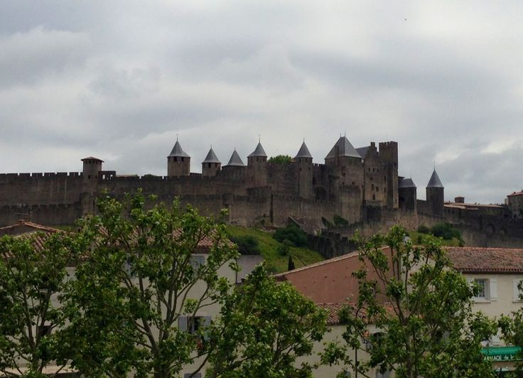 Walled city #carcassonne