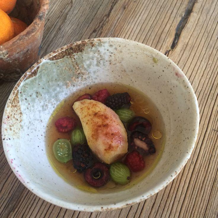 Braised White Fig , Sweet ,Salty,Sour Fruits  Ham Bullion