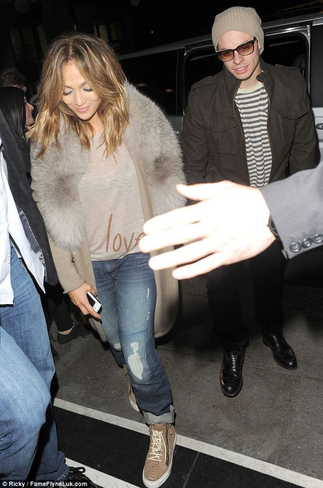 Love the shoes with the bf jeans!