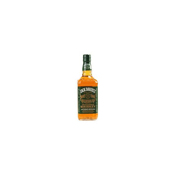 Jack Daniel's Old No 7 Green Label Tennessee Whiskey (£15) ❤ liked on Polyvore featuring drinks, fillers, food, food and drink and alcohol