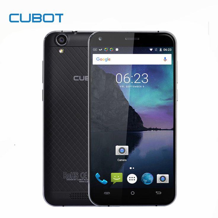 MTK6737 MANITO CUBOT 5.0 Pulgadas HD de Pantalla Smartphone Android 6.0 Quad Core Teléfono Celular 3 GB RAM 16 GB ROM Teléfono móvil