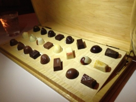 chocolates at per se