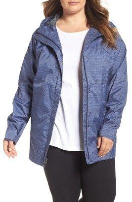 Shop Now - >  https://api.shopstyle.com/action/apiVisitRetailer?id=474213164&pid=uid6996-25233114-59 Plus Size Women's Columbia 'Splash A Little' Modern Classic Fit Waterproof Rain Jacket  ...