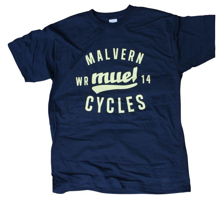 Malvern Cycles shop bike t shirt