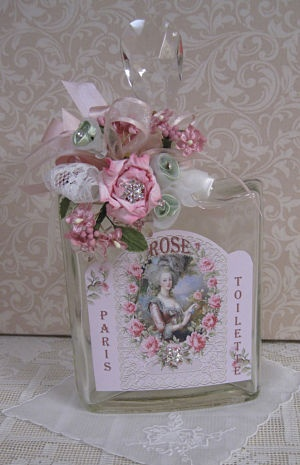 French Lady Victorian Bottle