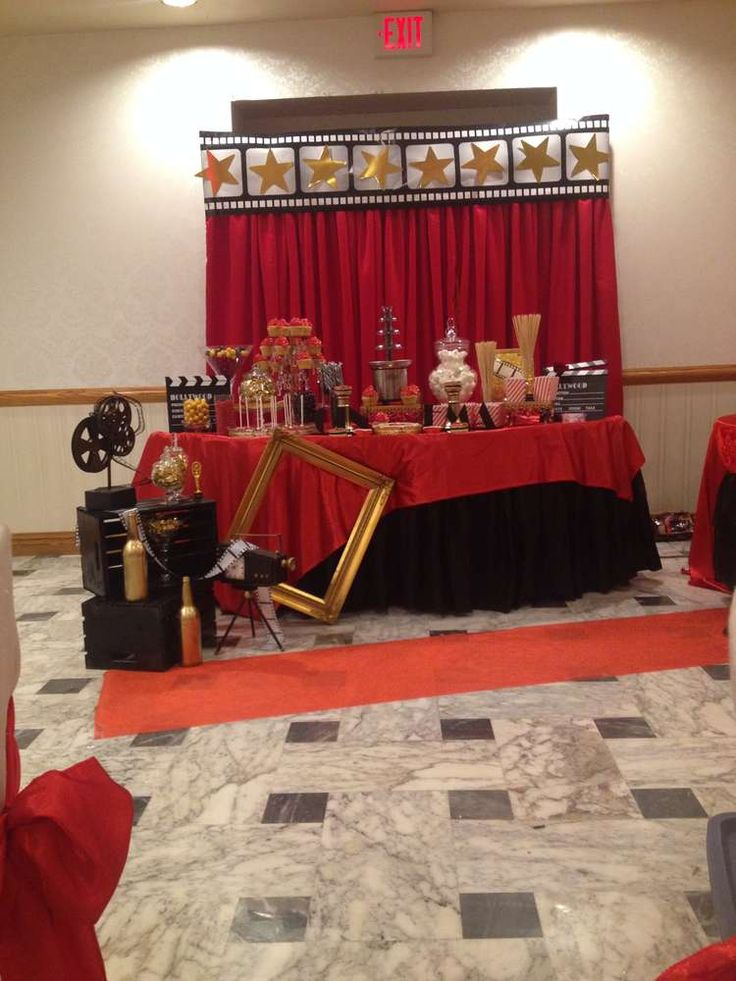Red Carpet Birthday Party Ideas | Photo 7 of 20 | Catch My Party