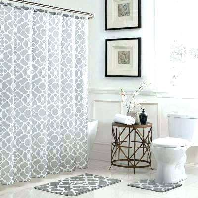 Elegant Shower Curtain Rug Set Figures Lovely And Curtains Rugs Bath In X Bathroom Sets