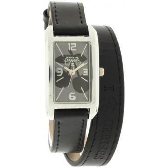 Montre Le Temps des Cerises TC78BKC - Montre Noire Bracelet Double Femme sur…