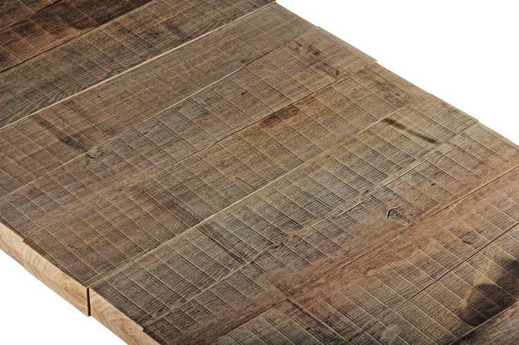 Weathered oak finish