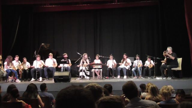 Wyspa Rodos : Koncert uczniów konserwatorium