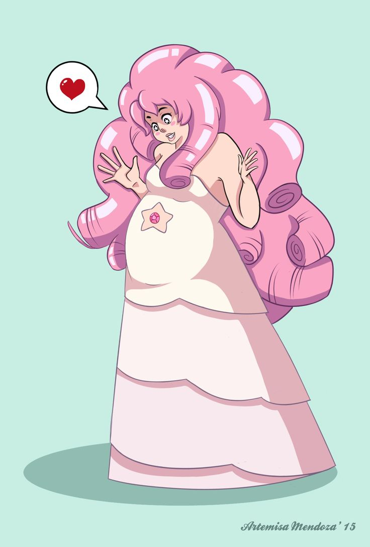 Rose Quartz from Steven Universe... my new addiction thanks to the hubby <3