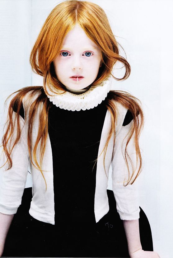 love the red hair and white complexion