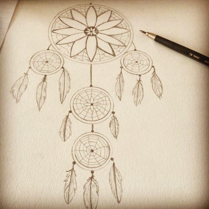 Traumfu00e4nger selbst gezeichnet, Bleistift, Zeichnung ...