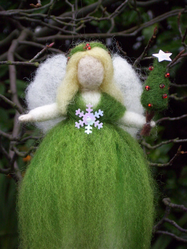 1000+ images about NEEDLE FELTED FAIRIES on Pinterest | Felted Wool ...