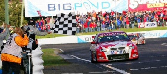 2005 Winners Mark Skaife and Todd Kelly in a VZ Holden Commondore