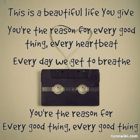"""""""Every Good Thing"""" by The Afters"""