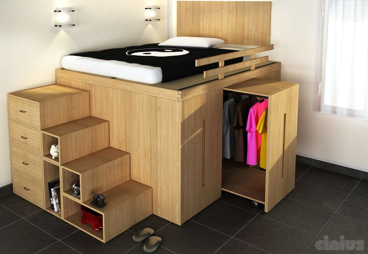 6 idee per un letto salvaspazio in camera tua!