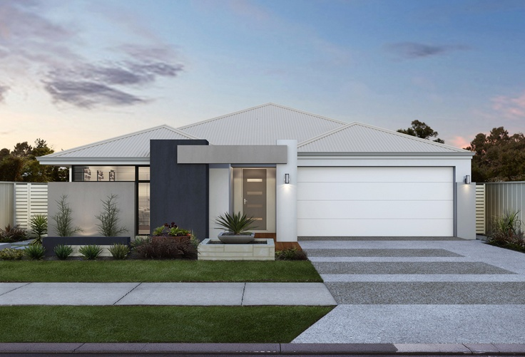 The Sanctuary - A practical narrow lot design with some extra luxury touches.