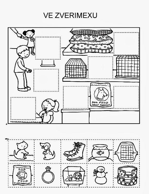 Categoriseren: Wat hoort er in de dierenwinkel?