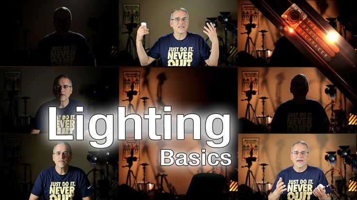 Light it up! The Basic Filmmaker Ep 93. Three-point lighting? Sure, that's cool. But what really makes this method work is the background!