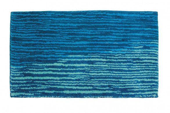 Badezimmerteppich Blau Mauritius Streifen Badematte Mauritius Streifen Blau Schoner Wohnen Nie Wieder Ka Badezimmerteppich Richtig Putzen Teppich